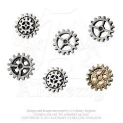 Gearwheel Buttons - Medium