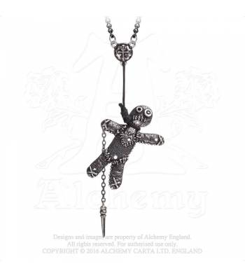 What's the idea behind Alchemy's Voodoo Doll necklace?