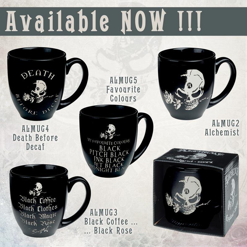 Alchemy Mugs Back by Popular Demand