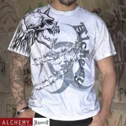 2724 - Flying devils - Men's T-Shirt (Vintage Charcoal)