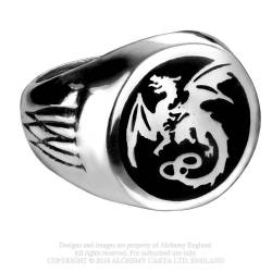 Wyverex Dragon Signet Ring