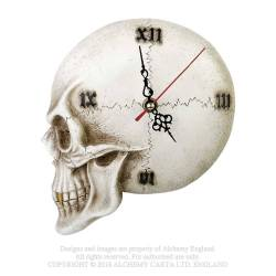 Tempore Mortis Skull Wall Clock