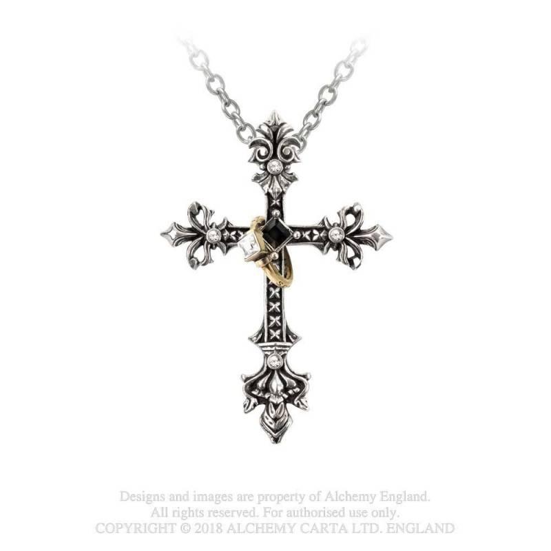 Maryam Theotokos Ring Cross
