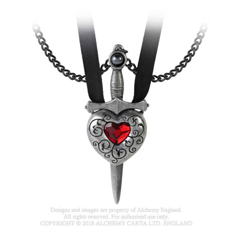 Love is King - Couples Necklace