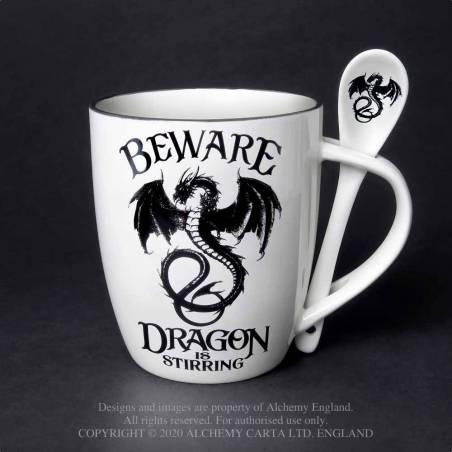 Dragon is Stirring: Mug and Spoon Set