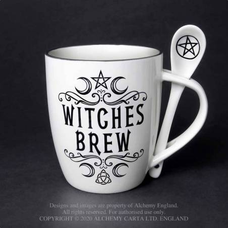 Witches Brew: Mug and Spoon Set