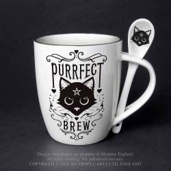 Purrfect Brew: Mug and...