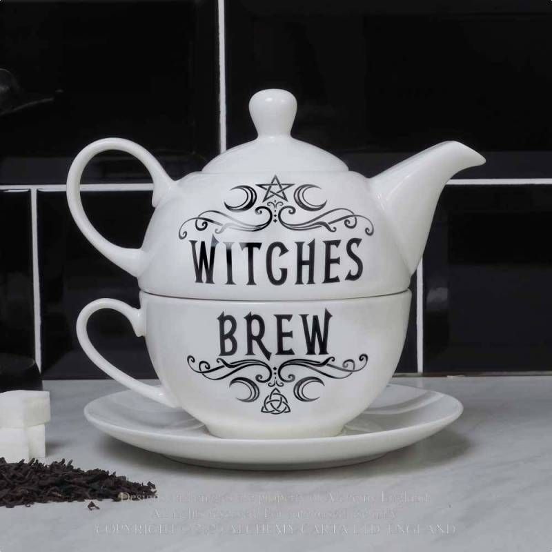Witches Brew Hex: Tea for One