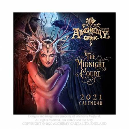 Alchemy Gothic 'The Midnight Court' 2021 Wall Calendar