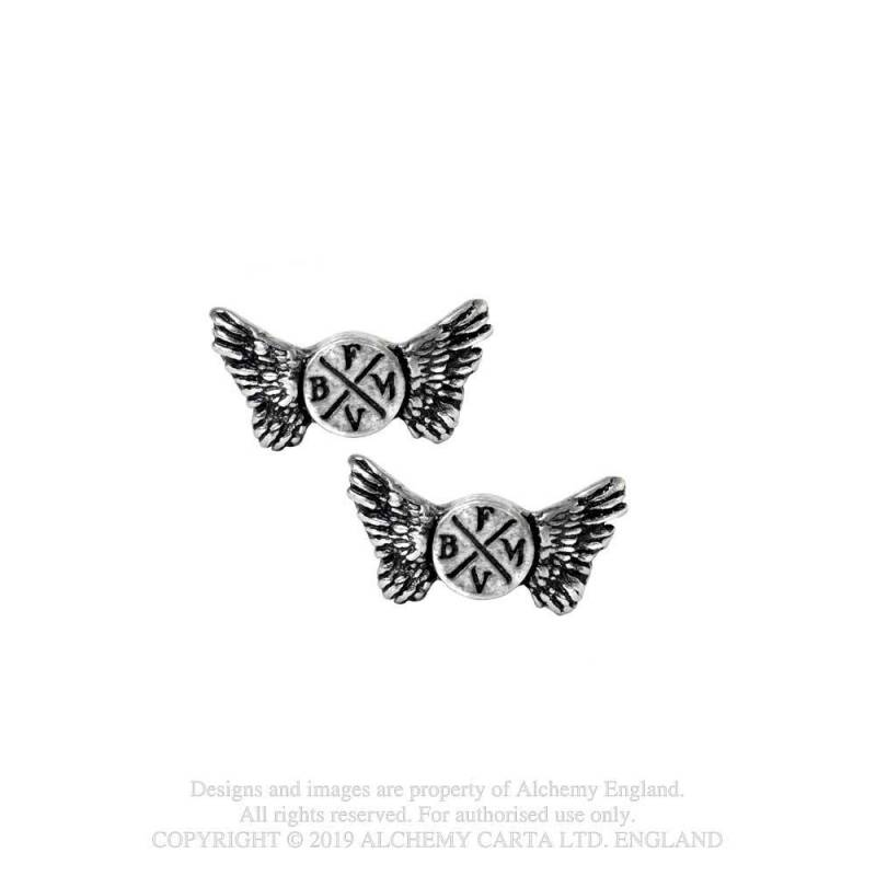 Bullet for my Valentine: Wings Logo Studs