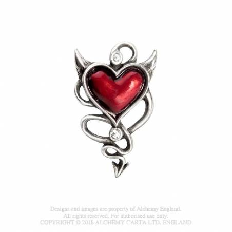 Devil Heart (hair screw)