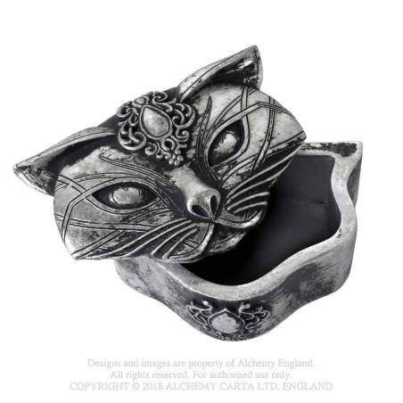 Sacred Cat Trinket Box