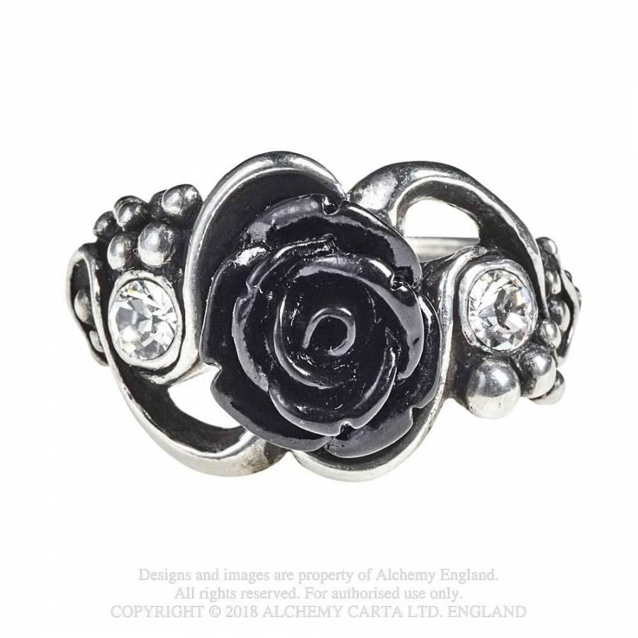 Stunning Alchemy Gothic Pewter ~ Bacchanal Rose ~ Bracelet