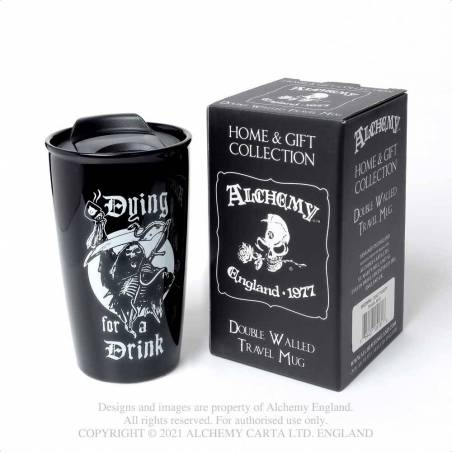 Dying for a Drink: Double Walled Mug