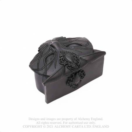 Sacred Cat Trinket Box (Black)