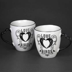 Love Birds Couple Mug Set