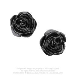 The Romance of Black Rose Stud