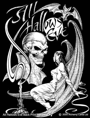 All Hallows Eve Back Print (CA209)