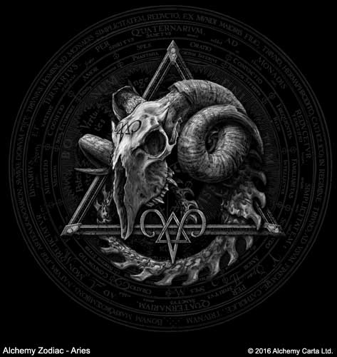 Alchemy Zodiac - Aries (CA875)