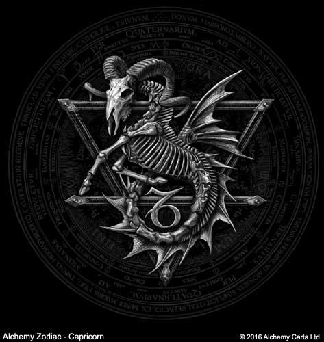 Alchemy Zodiac - Capricorn (CA877)