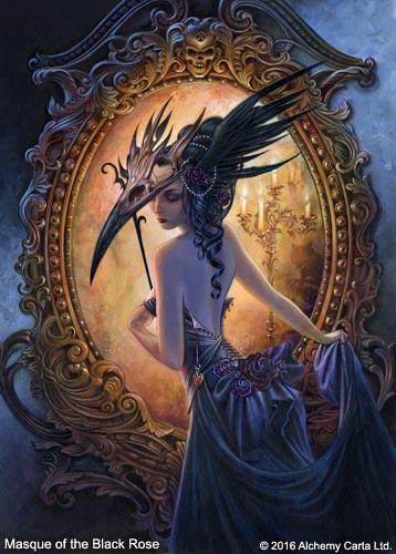 Masque of the Black Rose (CA873BR)