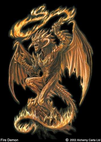Fire Demon (CA156)
