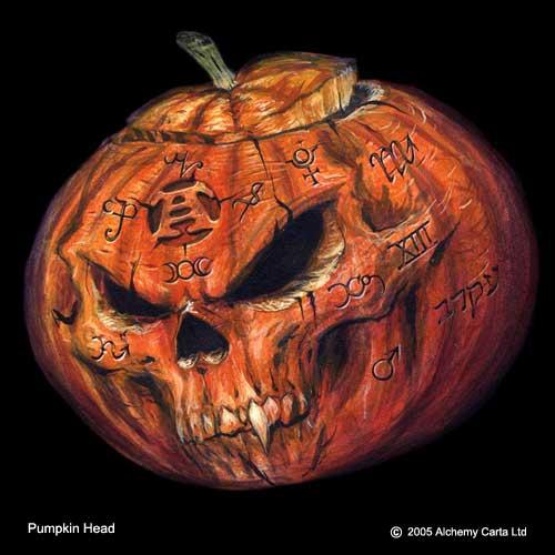 Pumpkin Head (CA203)