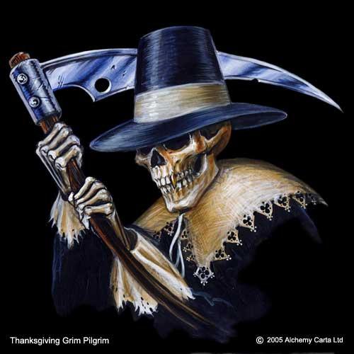 Thanksgiving Grim Pilgrim (CA207)