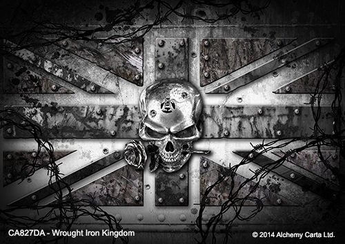 Wrought Iron Kindom (CA827DA)