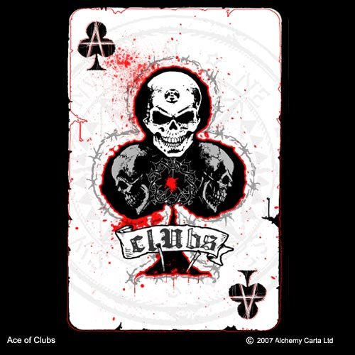 Ace of Clubs (CA307)