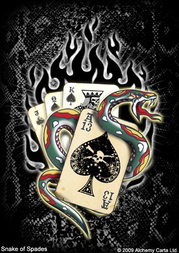 Snake of Spades (CA415UL13)