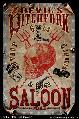 Devil's Pitch Fork Saloon (CA482UL13)