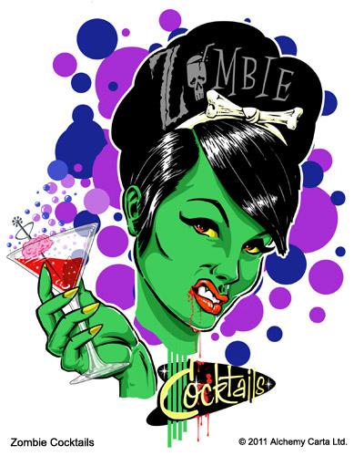 Zombie Cocktails (CA608UL13)