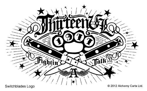 13 Switchblades Logo (CA633UL13)
