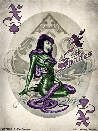X of Spades (CA742UL13)