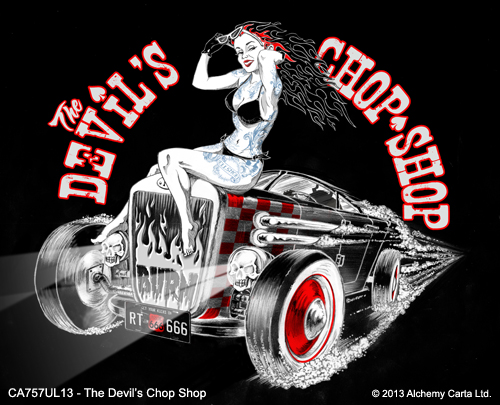 The Devil's Chop Shop (CA757UL13)