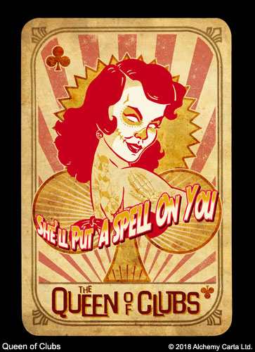 Queen of Clubs (CA937UL13)