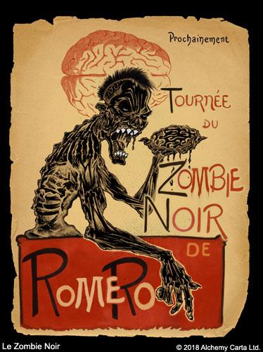 Le Zombie Noir (CA938UL13)
