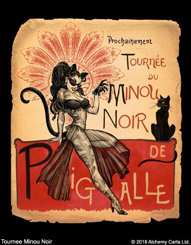 Tournee Minou Noir (CA952UL13)