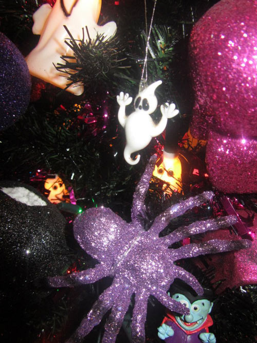 on the night before goth xmas tree 2