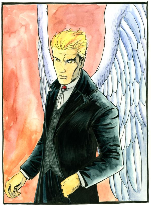 Lucifer Morningstar by Peter Gross