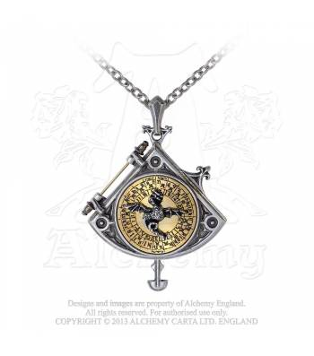 Astral Dragon Quadrant Locket (P670)