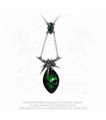 Absinthe Fairy Necklace (P526)