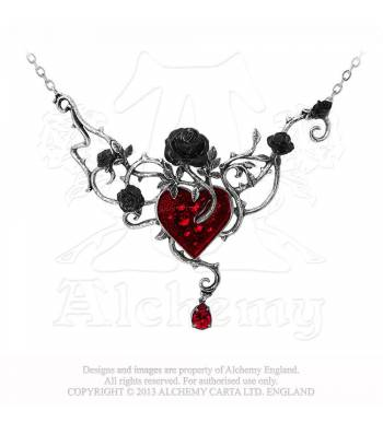 Bed Of Blood Roses Necklace (P630)