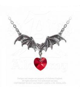 Vampire Loveheart Pendant (P802)