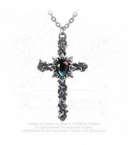 Ivy Cross Pendant (P804)