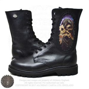 Reaper's Ace - 3D Cameo Boots