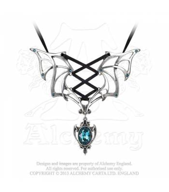 Vampires Corset Necklace (P667)
