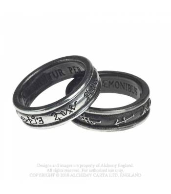 Demon Black & Angel White Ring (R212)