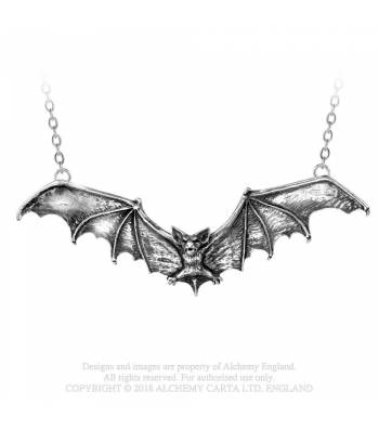Gothic Bat Necklace (P121)